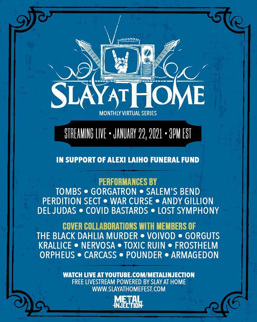 Slay at Home January 2021